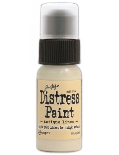 Ranger Tim Holtz Distress Paint Antique Linen (29 Ml)