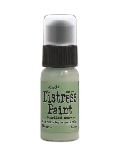 Ranger Tim Holtz Distress Paint Bundled Sage (29 Ml)