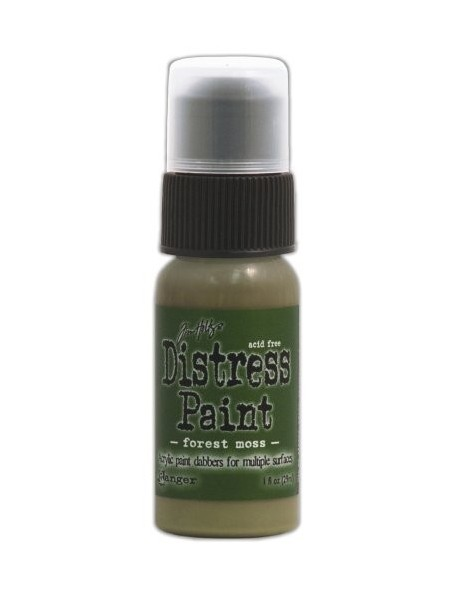 Ranger Tim Holtz Distress Paint Forest Moss (29 Ml)