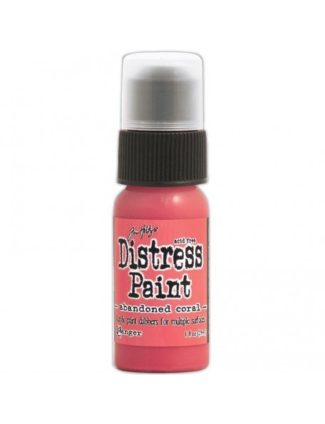 Ranger Tim Holtz Distress Paint Abandoned Coral (29 Ml)