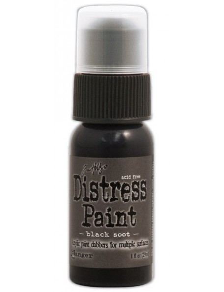 Ranger Tim Holtz Distress Paint Black Soot (29 Ml)