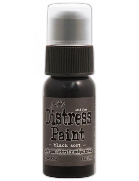 Ranger Tim Holtz Distress Paint Black Soot (29 Ml)