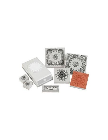 Ek Tools Stamp and punch set Margarita