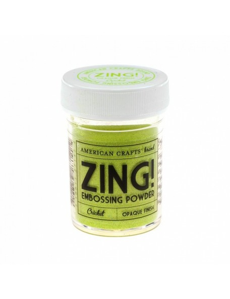 American Crafts Zing! embossing Opaque Finish Crichet