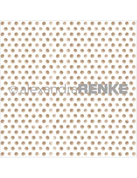 Alexandra Renke Cardstock de una cara 30,5x30,5 cm, Basic Gold Dots