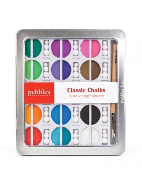 Pebbles I Kan'Dee Chalk Set Basic Brights