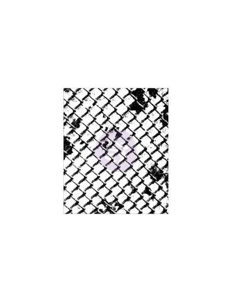 """Prima Marketing Finnabair Clear Stamp 2.5""""X3"""", Wire Net"""