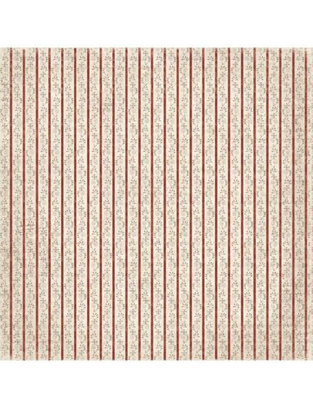 """Maja Design It's Christmas time Cardstock de doble cara 12""""X12"""", Garlands"""