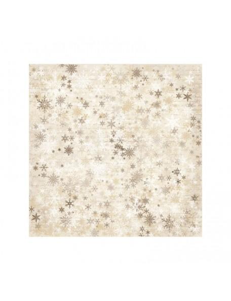 "Maja Design It's Christmas time Cardstock de doble cara 12""X12"", Snowflakes"