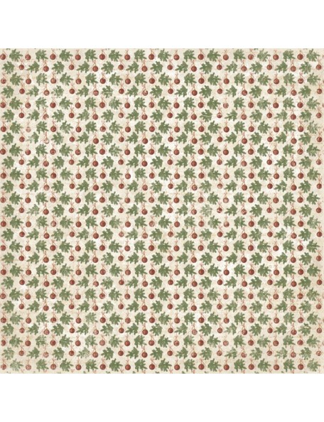 "Maja Design It's Christmas time - Christmas Baubles Cardstock de doble cara 12""X12"""