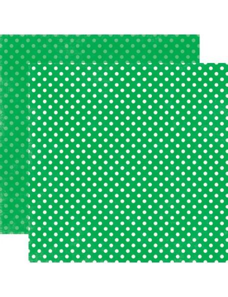 Echo Park Dots, Grass Tiny Dots
