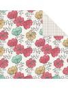 "Teresa Collins Daily Stories Cardstock de doble cara 12""X12"", Floral"