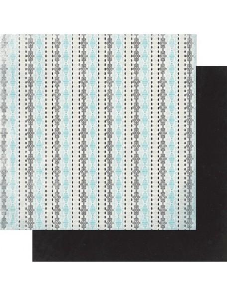 "Authentique Classique Elegant Cardstock de doble cara 12""X12"" One"