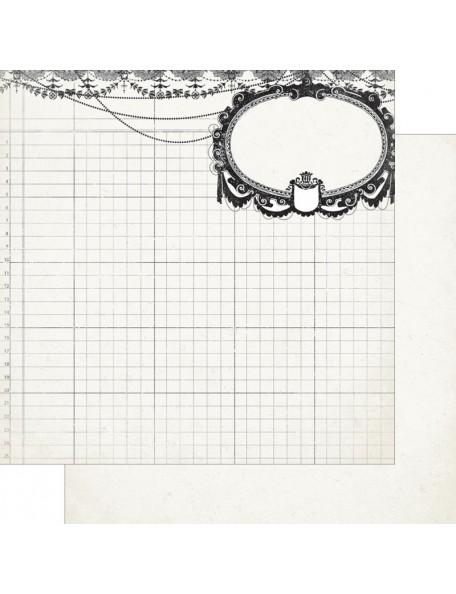 "Authentique - Classique Elegant Cardstock de doble cara 12""X12"" Two"