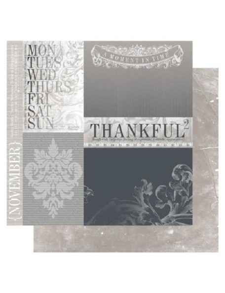 "Ruby Rock-It Year In Review Cardstock 12""X12"", November"