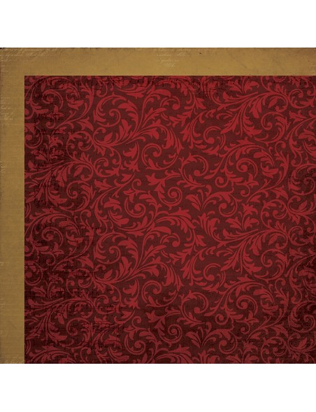 "Kaisercraft Holy Night Cardstock de doble cara 12""X12"", Star"