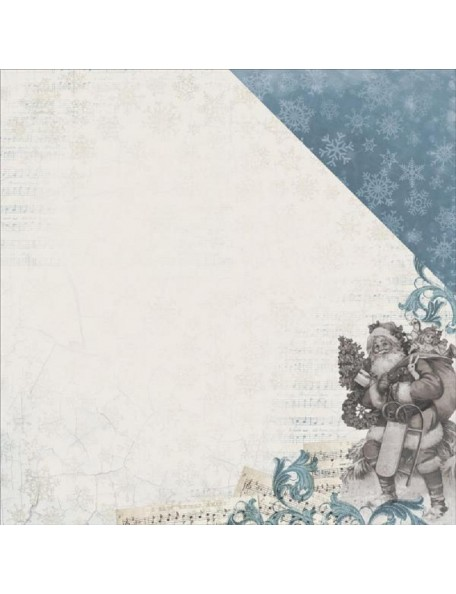 "Kaisercraft Frosted Cardstock de doble cara 12""X12"", Chilly"