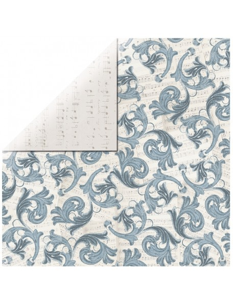 "Kaisercraft Frosted Cardstock de doble cara 12""X12"", Icicles"