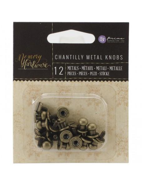"Prima Marketing - Metal Knorps 0.25"" - Frank Garcia Adornos"
