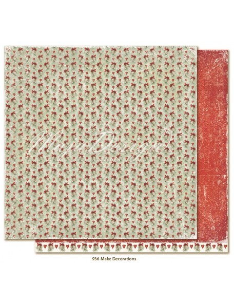 """Maja Design Joyous Winterdays cardstock de doble cara 12""""X12"""" , Make decorations"""