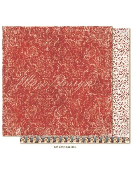"""Maja Design Joyous Winterdays cardstock de doble cara 12""""X12"""" , Christmas time"""