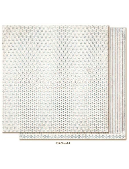 "Maja Design Joyous Winterdays cardstock de doble cara 12""X12"" , Cheerful"