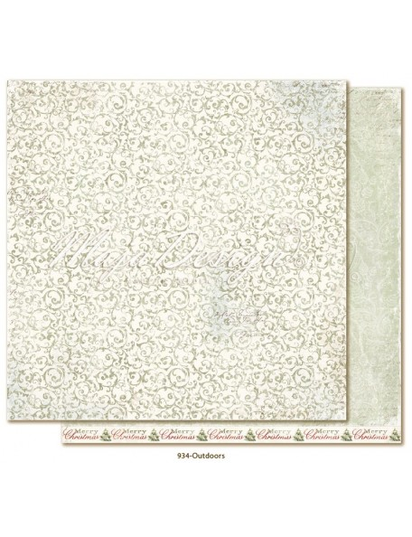 "Maja Design Joyous Winterdays Cardstock de doble cara 12""X12"" , Outdoors"