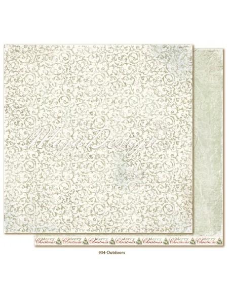 """Maja Design Joyous Winterdays cardstock de doble cara 12""""X12"""" , Outdoors"""