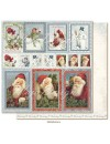 "Maja Design Joyous Winterdays cardstock de doble cara 12""X12"" , Ephemera"
