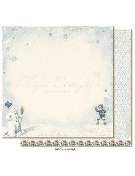 Maja Design Joyous Winterdays, Snowball fight