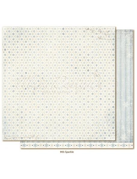 "Maja Design Joyous Winterdays cardstock de doble cara 12""X12"" , Sparkle"