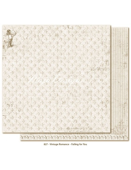 "Maja Design Vintage Romance Cardstock de doble cara 12""x12"", Falling for you"