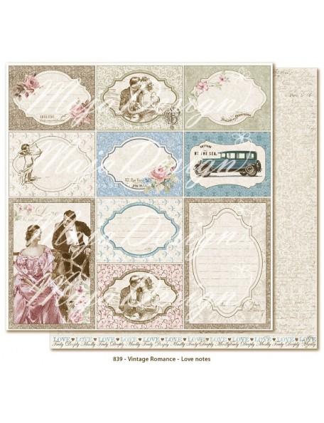 Maja Design Vintage Romance, Love notes