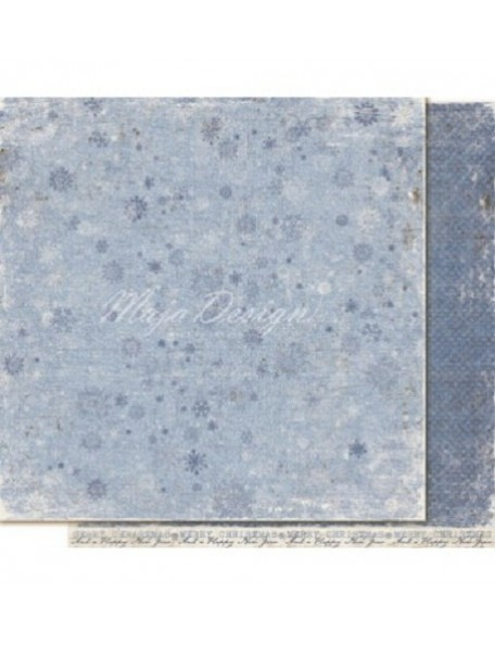 "Maja Design - Vintage Frost Basics Cardstock de doble cara 12""x12"", 18th of Dec"