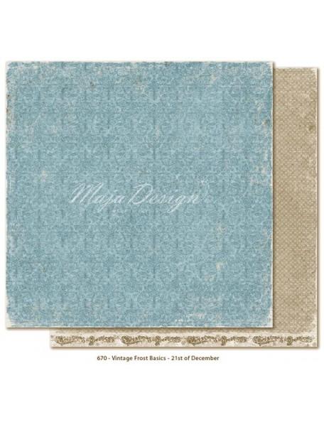 Maja Design Vintage Frost Basics, 21st of Dec