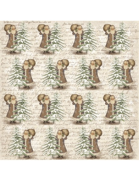 "Maja Design It's Christmas Time Cardstock de doble cara 12""X12"", Expectations"
