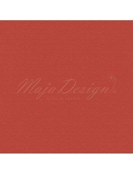 "Maja Design Monochromes Shades of Winterdays Cardstock de doble cara 12""X12"", Red"