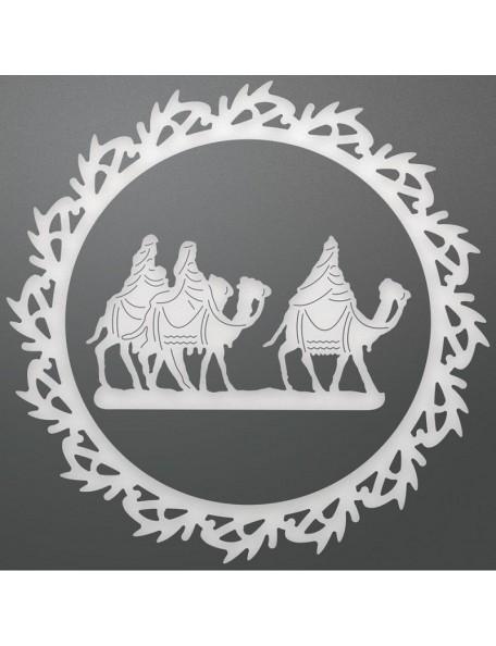 "Ultimate Crafts Look Like Christmas Layering Die 2, Wreathed Wise Men 3.5"" X 3.5"""