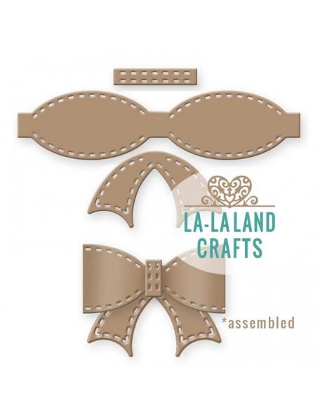 """La-La Land Troquel Lazo con puntos de costura 2.75""""X2.75"""""""