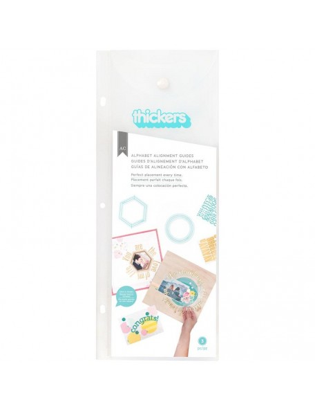 We R Memory Keepers Thickers Alignment Guides-Circle