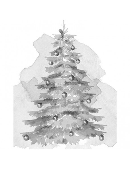"Spellbinders 3D Sello 2.75""X4, Christmas Tree"