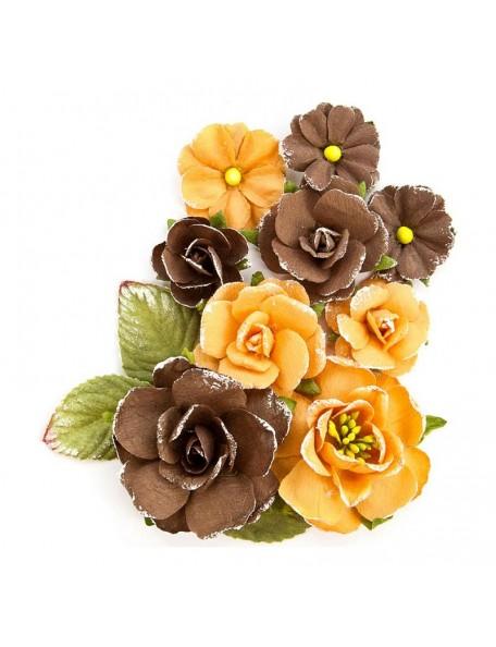 Prima Marketing Amber Moon Flowers-Bramble