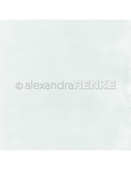Alexandra Renke Cardstock de una cara 30,5x30,5 cm, Mimis Acuarela Ice Blue/Mimis Kollektion Aquarell Eisblau