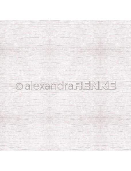 Alexandra Renke Cardstock de una cara 30,5x30,5 cm Holzstruktur Veilchenrosa