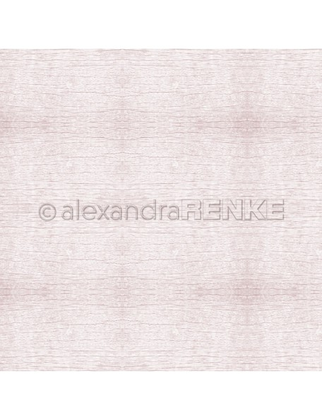 Alexandra Renke Cardstock de una cara 30,5x30,5 cm Holzstruktur Altrosa