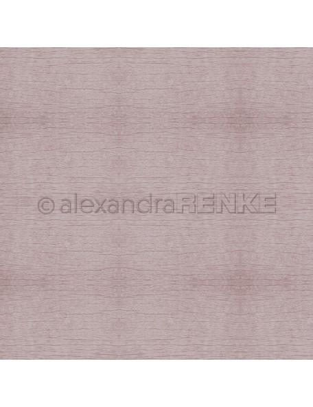 Alexandra Renke Cardstock de una cara 30,5x30,5 cm, Holzstruktur Rostrosa