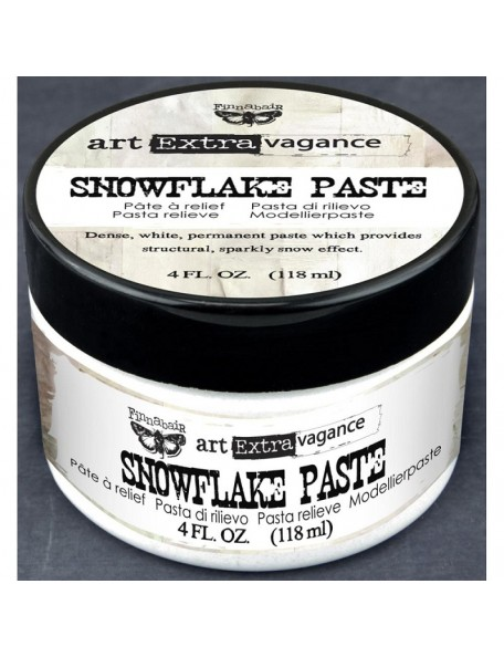 Prima Marketing Finnabair Art Extravagance Snowflake Paste 4oz