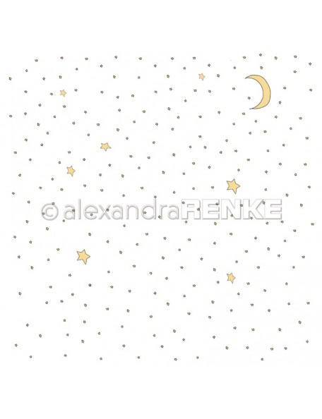 Alexandra Renke Cardstock de una cara 30,5 x 30,5 cm, Estrellas/Sternenhimmel