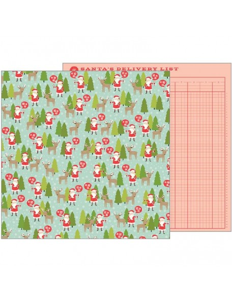 """Pebbles Merry Merry Candy Cane Stripes 12""""x12"""", North Pole"""