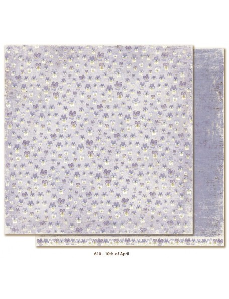"Maja Design - Vintage Spring Basics Cardstock de doble cara 12""x12"", 10th of April"